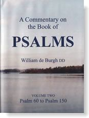 A Commentary on the Psalms by William De Burgh
